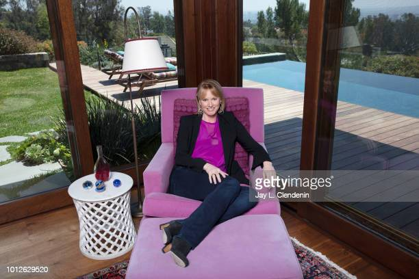 Showrunner Melissa Rosenberg is photographed for Los Angeles Times on April 26 2018 in Los Angeles California PUBLISHED IMAGE CREDIT MUST READ Jay L...
