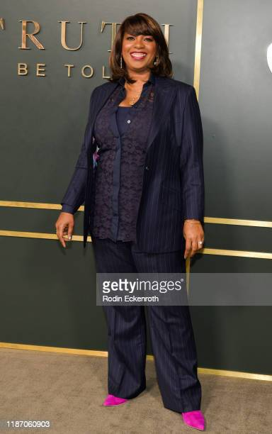 Showrunner Nichelle Tramble Spellman attends the Premiere of Apple TV's Truth Be Told at AMPAS Samuel Goldwyn Theater on November 11 2019 in Beverly...