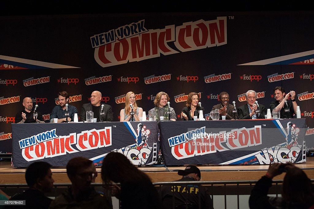 Netflix Original Series 'Marvel's Daredevil' New York Comic-Con Panel & Cast Signing : News Photo