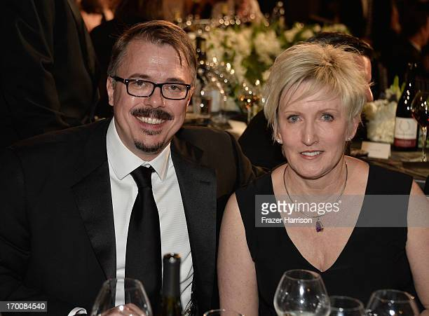 Showrunner Vince Gilligan and Holly Rice attend the 41st AFI Life Achievement Award Honoring Mel Brooks at Dolby Theatre on June 6 2013 in Hollywood...