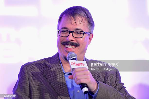 Showrunner Vince Gilligan attends Variety's Primetime Emmy Elite Showrunners Breakfast sponsored by HP and Udi's Gluten Free at InterContinental...