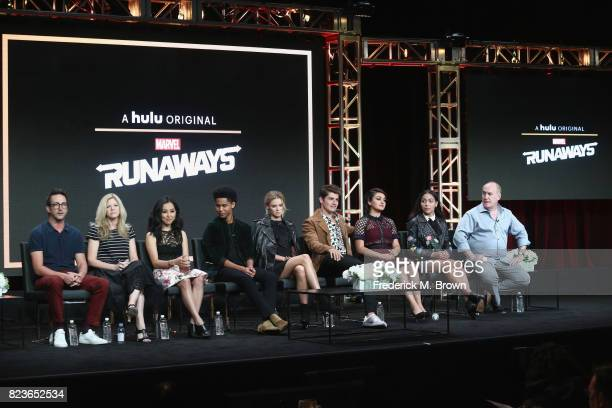 Showrunner/executive producer Josh Schwartz showrunner/executive producer Stephanie Savage Lyrica Okano Rhenzy Feliz Virginia Gardner Gregg Sulkin...