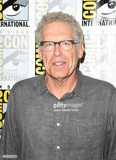 Showrunner/Executive Producer/Writer Carlton Cuse attends FX's 'The Strain' Press Line during ComicCon International 2015 at Hilton Bayfront on July...