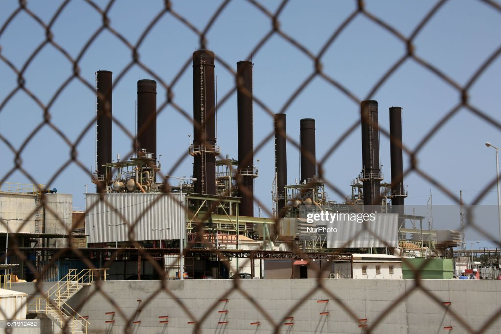 Gaza Strip\'s only power plant run out of fuel Photos and Images ...
