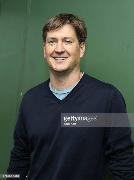 Show's cocreator and executive producer Bill Lawrence backstage in green room at The Undateable Tour opening night at Caroline's On Broadway on March...