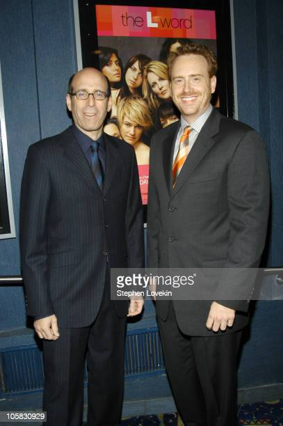Showtime Chairman and CEO Matt Blank and President of Showtime entertainment Robert Greenblatt