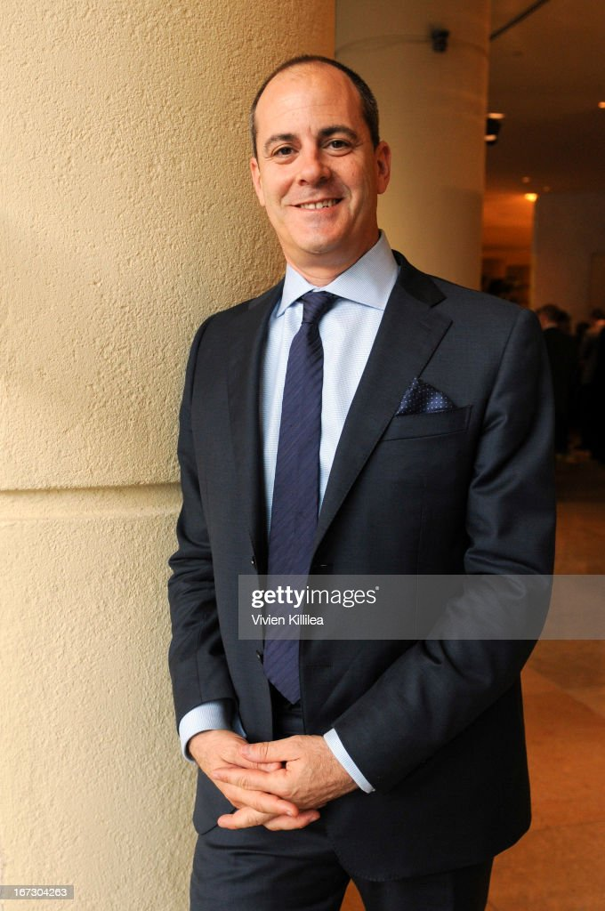 Showtime Entertainment President David Nevins attends Liberty Hill's Upton Sinclair Awards Dinner Honors - Show at The Beverly Hilton Hotel on April 23, 2013 in Beverly Hills, California.