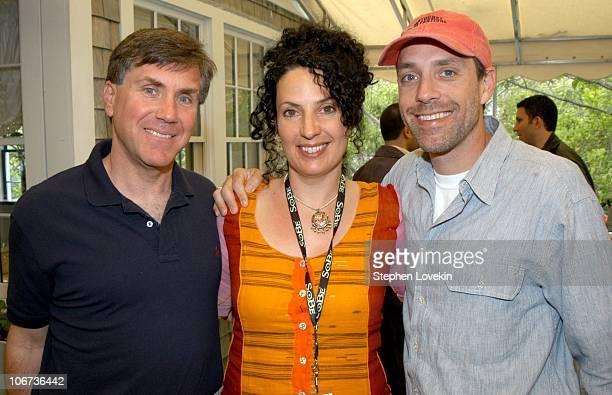 Showtime Executive VP Mark Greenberg CoFounder of The Nantucket Film Festival Jill Goode and Jace Alexander