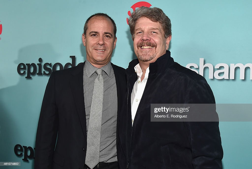 Showtime Networks President David Nevins And Executive Producer John
