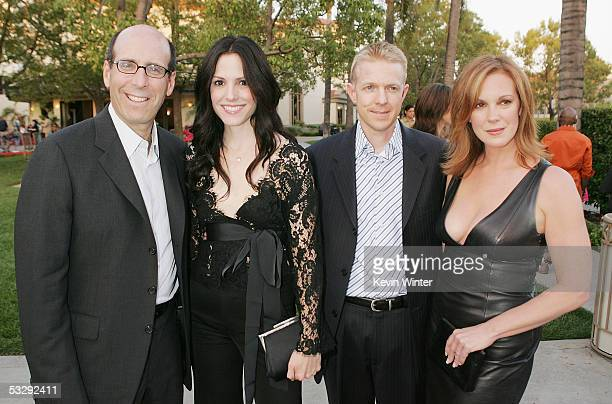 Showtime's Chairman and CEO Matt Blank actress MaryLouise Parker Lions Gate Television's President of Programming Kevin Beggs and actress Elizabeth...