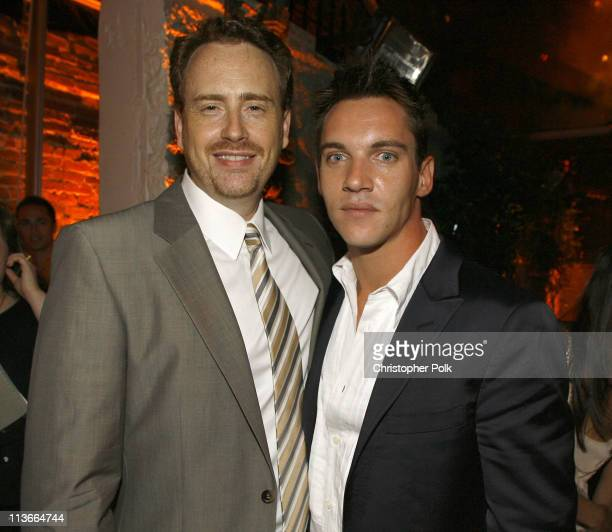 Showtime's Robert Greenblatt and Jonathan Rhys Meyers