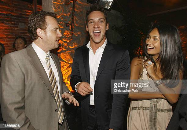 Showtime's Robert Greenblatt Jonathan Rhys Meyers and Reena Hammer