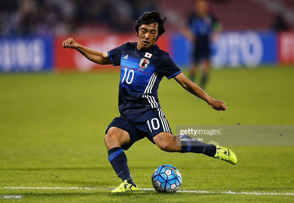 Japan v North Korea - AFC U-23 Championship Group B : ニュース写真