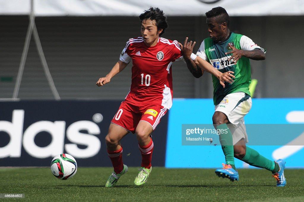 SC Sagamihara v J.League U22 - J.League 3 2015 : News Photo