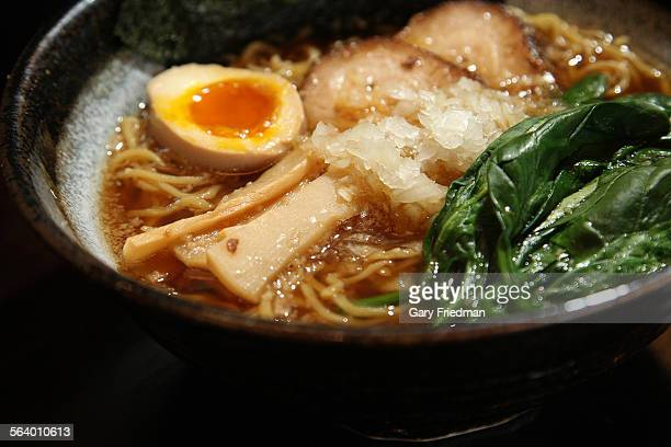Shoyu Ramen from Men Oh Little Tokyo in the Little Tokyo area of downtown Los Angeles on January 24 2013