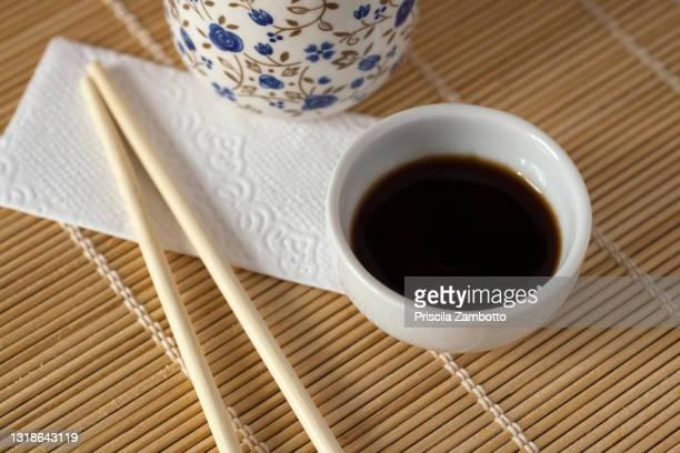 shoyu sauce - prato de soja - fotografias e filmes do acervo