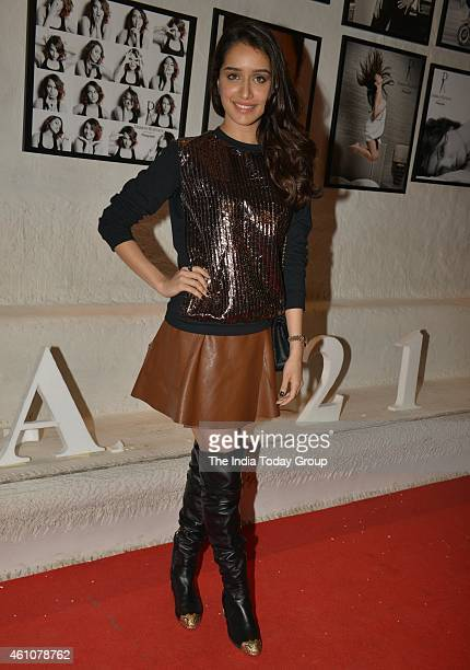 Shraddha Kapoor at Dabboo Ratnanis 2015 calender launch in Mumbai