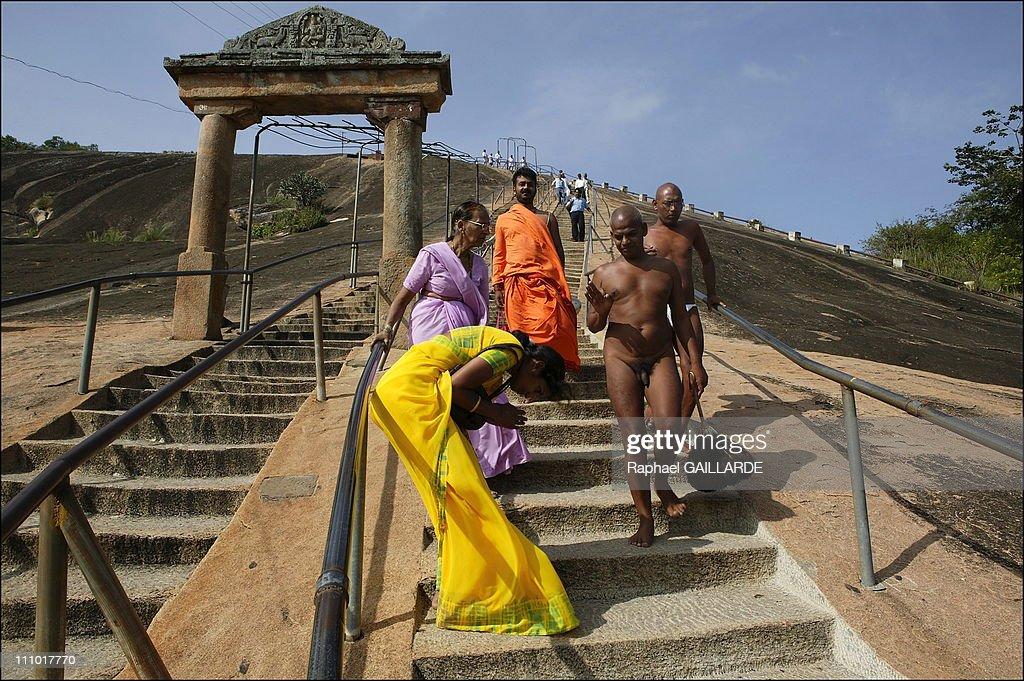 Digambara Monks Shravana Belgola, Chan...
