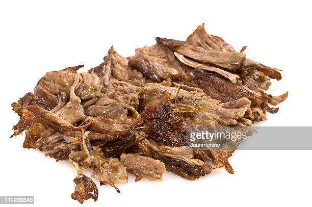 shredded beef - shredded stock pictures, royalty-free photos & images