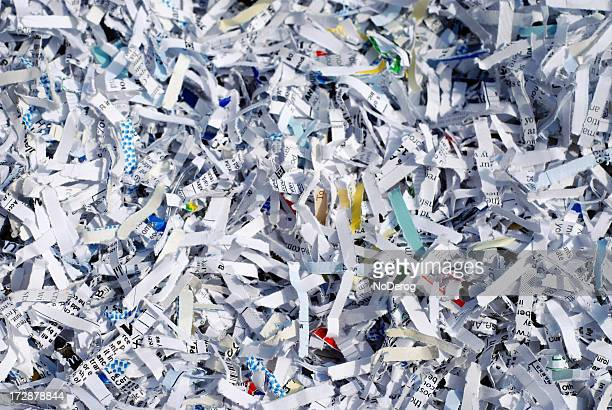 shredded documents to protect confidential information - shredded stock pictures, royalty-free photos & images