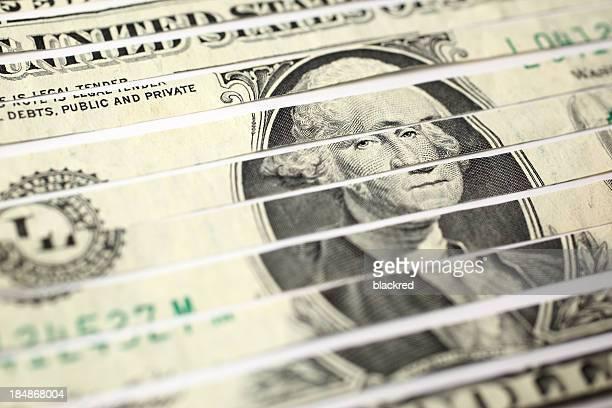Déchiqueté de l'argent