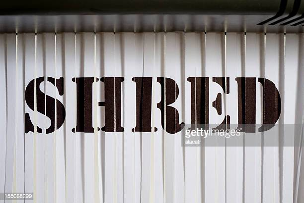 shredded shred - shredded stock pictures, royalty-free photos & images
