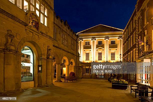 Shrewsbury Museum and Art Gallery located in the former Music Hall Shropshire United Kingdom