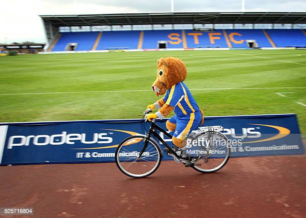 Shrewsbury Town FC players and management cycling from the old ground of Gay Meadow to the new Prostar Stadium Shrewsbury has been chosen as one of...