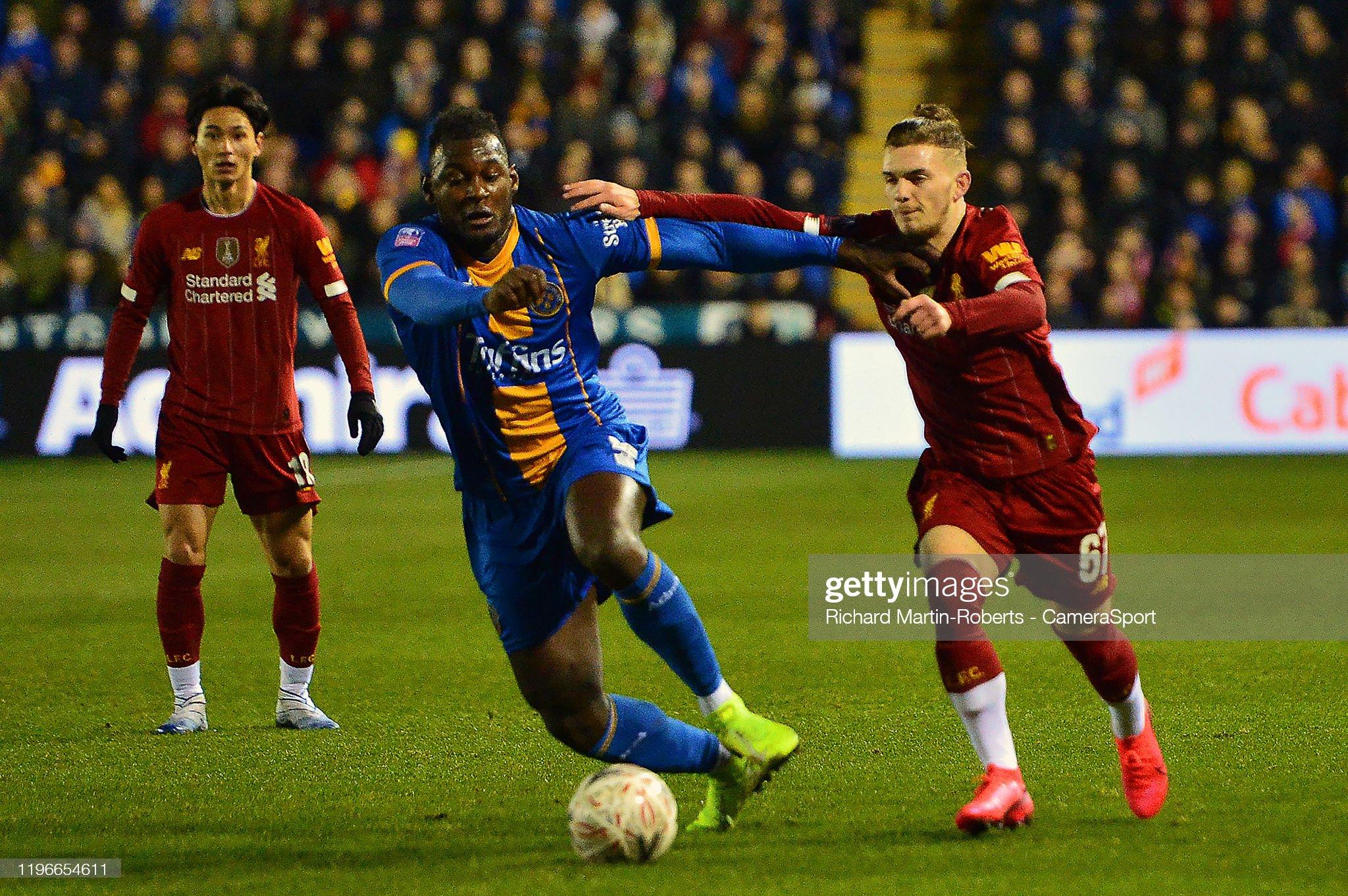 Liverpool v Shrewsbury preview, prediction and odds