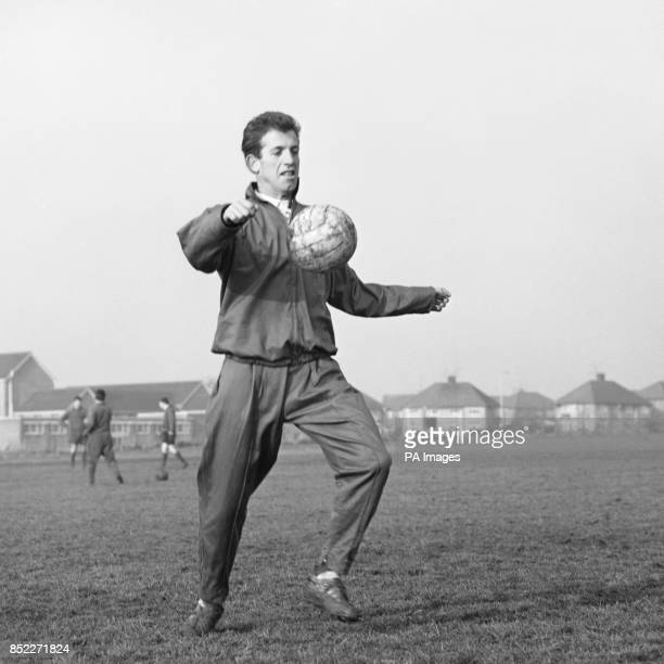 Shrewsbury Town's Peter Broadbent during training