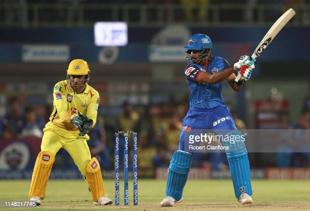 Shreyas Iyer of the Delhi Capitals during the Indian Premier League IPL Qualifier Final match between the Delhi Capitals and the Chennai Super Kings...