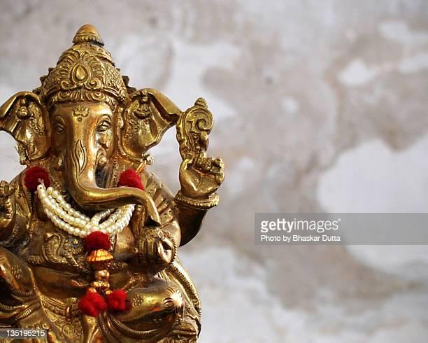 shri ganesh - ganesha stock photos and pictures