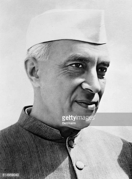 Shri Jawaharlal Nehru, the Prime Minister of India and Minister of External Affairs.