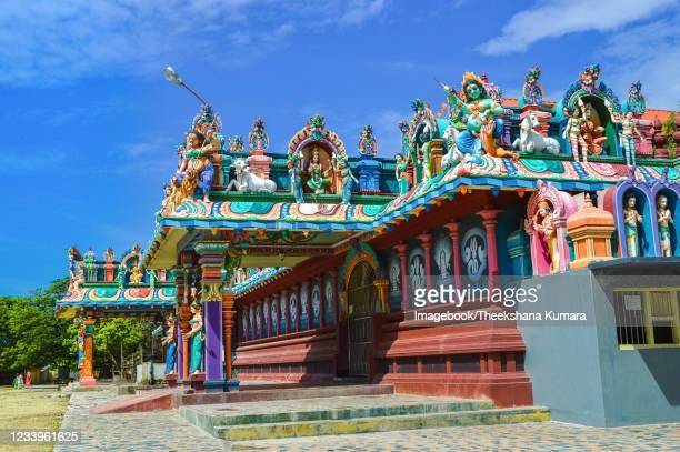 shri nagapooshani amman temple, nagadeepaya. - imagebook stock pictures, royalty-free photos & images
