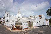 Shri Sudarmalaya Buddhist Temple in Galle Fort.