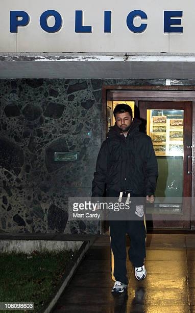 Shrien Dewani leaves Southmead police station after he reported there as part of his bail conditions on January 17 2011 in Bristol England Shrien...