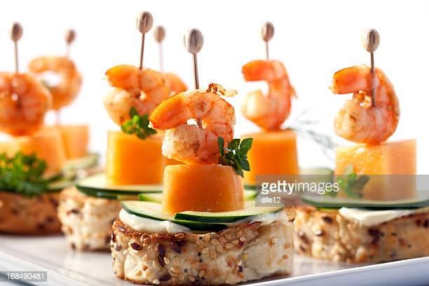 Shrimp cocktail appetizer