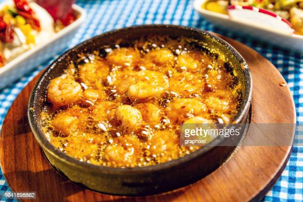 Shrimp Cooked with Butter in Casserole - Karides Guvec