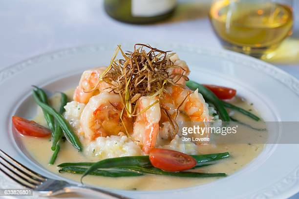 Shrimp Risotto with Wine