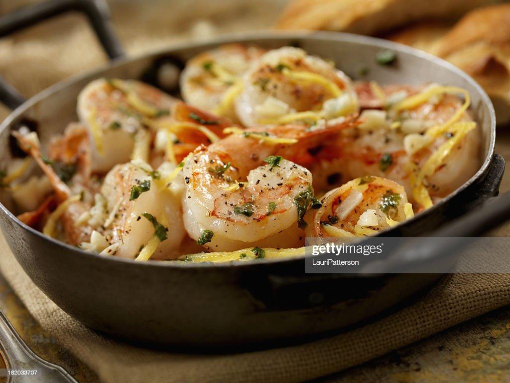 Shrimp Scampi : Stock Photo