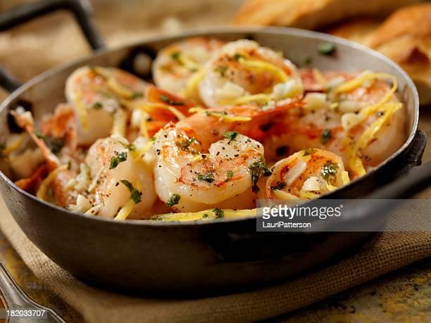 shrimp scampi - shrimp stock photos and pictures