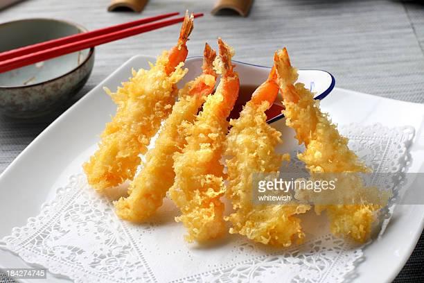 海老の天ぷら - 天ぷら ストックフォトと画像