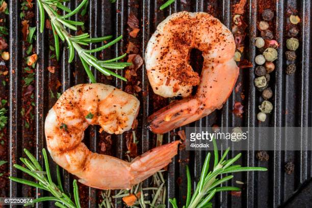 Shrimp with Spices