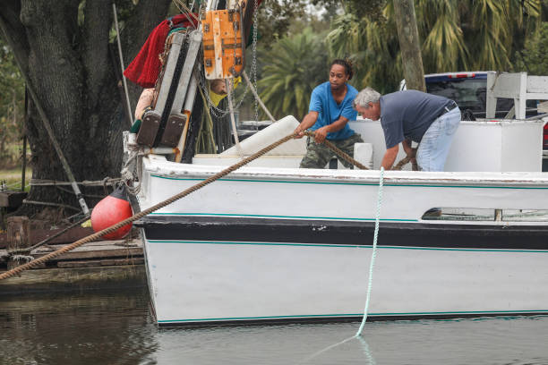 LA: Hurricane Zeta Barrels Down On Louisiana Coast