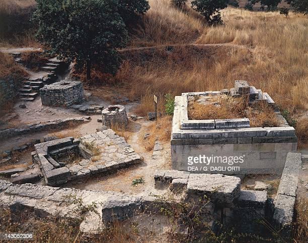 Shrine in Troy VII Turkey Anatolian civilisation 13001260 BC
