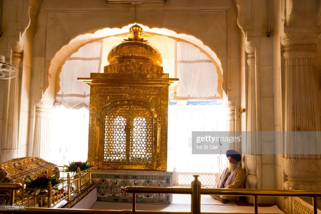 Shrine inside Golden Temple