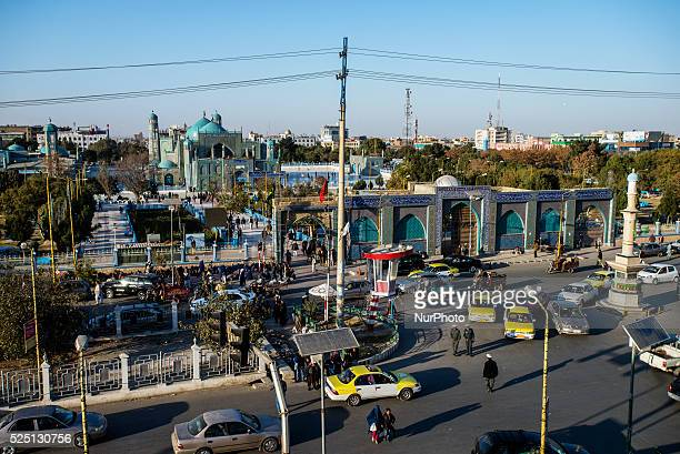 Shrine of Ali in Mazari Sharif Afghanistan