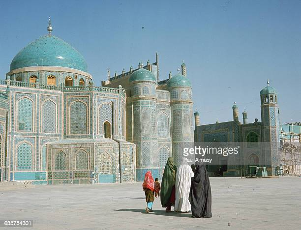 Shrine of Ali in MazariSharif With Group of Moslem Women