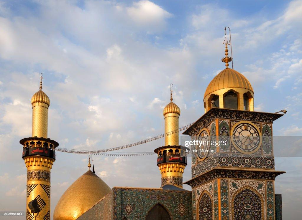 Shrine of Imam Hussain ibn Ali in Karbala Iraq : Foto de stock