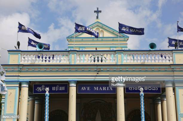 Shrine of Our Lady of Madhu in Mannar Sri Lanka With a history of over 400 years this shrine acts as a center for pilgrimage and worship for Sri...